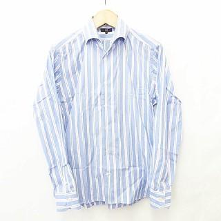 【中古】23区 シャツ ワイシャツ 長袖 シャツカラ...