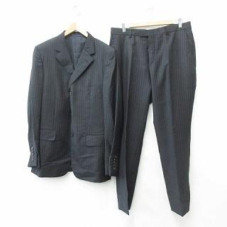 【中古】グッチ GUCCI スーツ テーラードジャケッ...