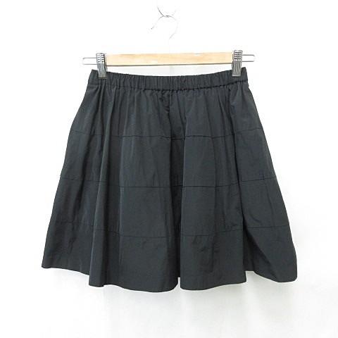 【中古】ロペ ROPE スカート ギャザースカート フ...