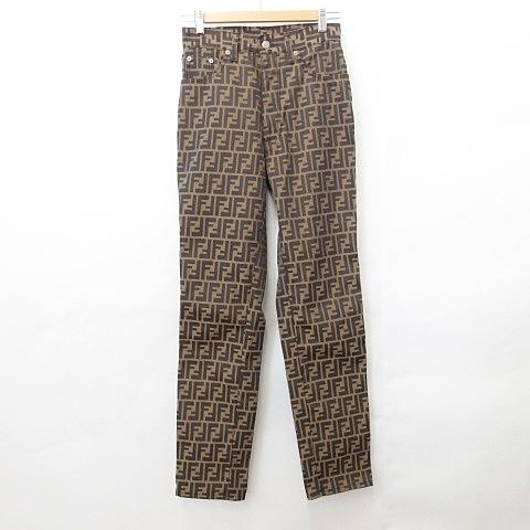 【中古】フェンディ FENDI jeans パンツ ロング ...