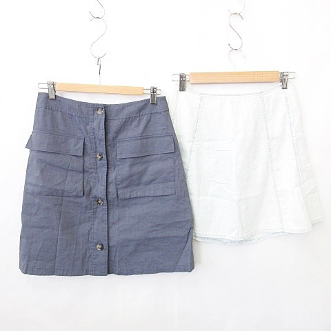 【中古】セオリー theory スカート 2枚セット ひ...