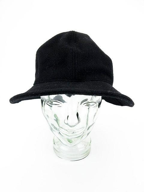 カシラ CA4LA 帽子 ハット ウール M 黒 ブラック ...