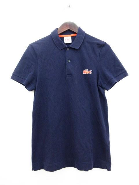 ラコステ LACOSTE ポロシャツ カットソー ロゴ 半...