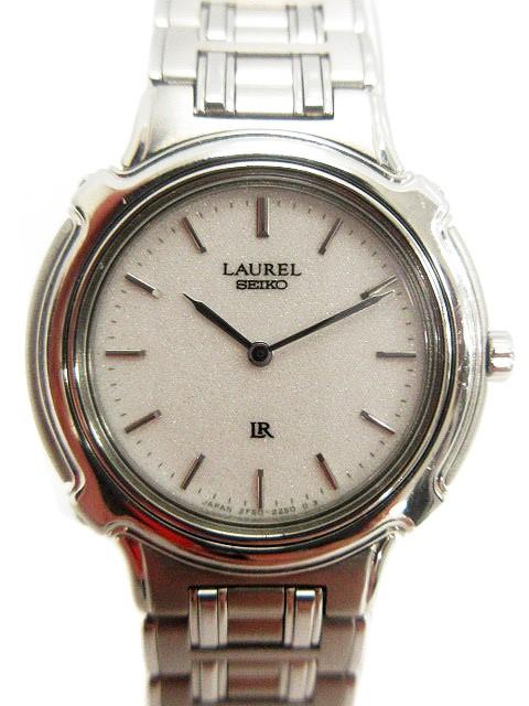 セイコー SEIKO LAUREL 腕時計 2針 クォーツ 2F50...