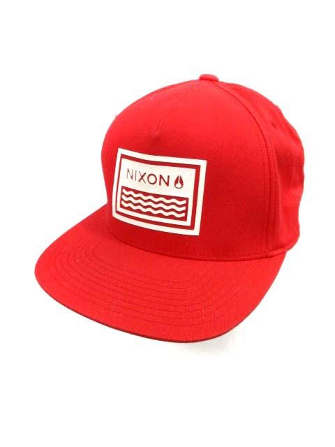 ニクソン NIXON 帽子 キャップ  ウール混 キャン...