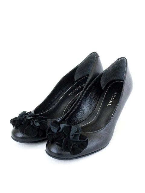 リーガル REGAL 靴 パンプス ウェッジソール ハイ...