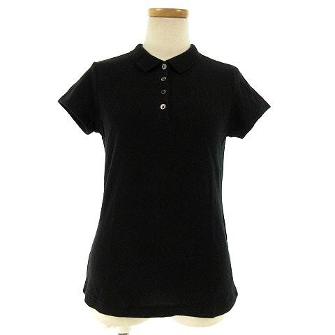 無印良品 良品計画 ポロシャツ 半袖 コットン 黒 ...