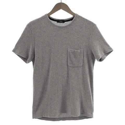 【中古】セオリー theory Tシャツ 半袖 丸首 パイ...
