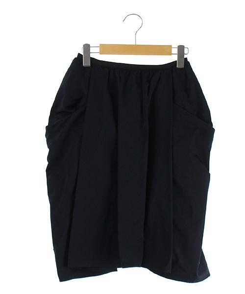ロペ ROPE スカート ひざ丈 フレア 38 黒 /YS ● ...