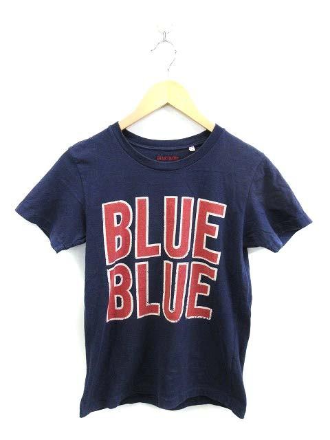 ブルーブルー BLUE BLUE Tシャツ 半袖 プリント X...