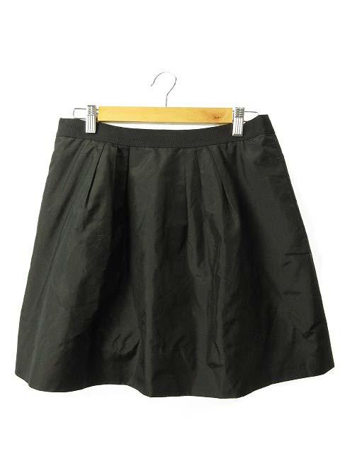 ジェイクルー J.CREW スカート フレア ミニ 6 黒 ...