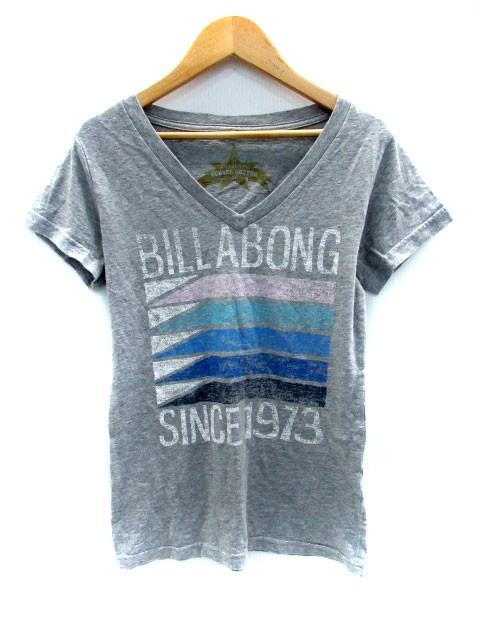 ビラボン BILLABONG Tシャツ カットソー Vネック ...
