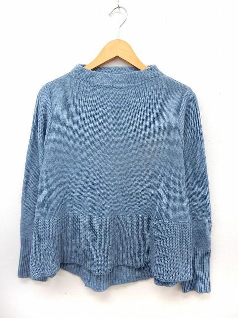 【中古】GIPSY BLUE ニット セーター モックネッ...