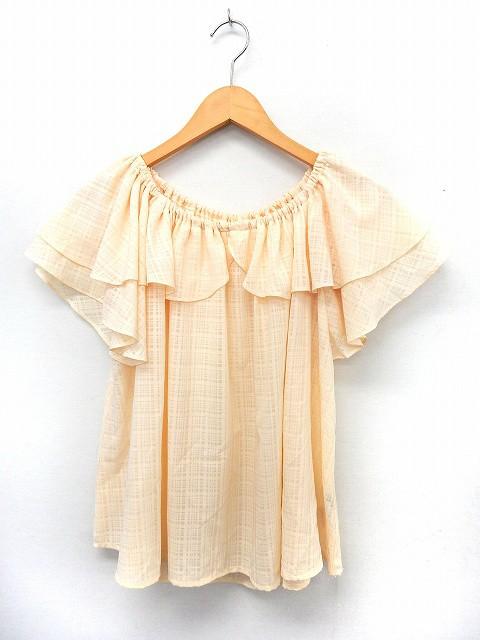 【中古】a.g.plus カットソー Tシャツ 半袖 オフ...