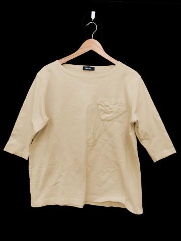 【中古】ネネット Ne-net カットソー 七分袖 刺繍...