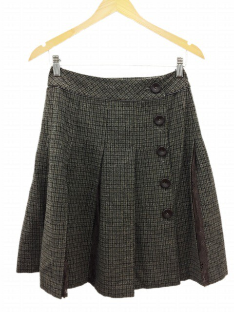 【中古】クミキョク 組曲 KUMIKYOKU スカート プ...