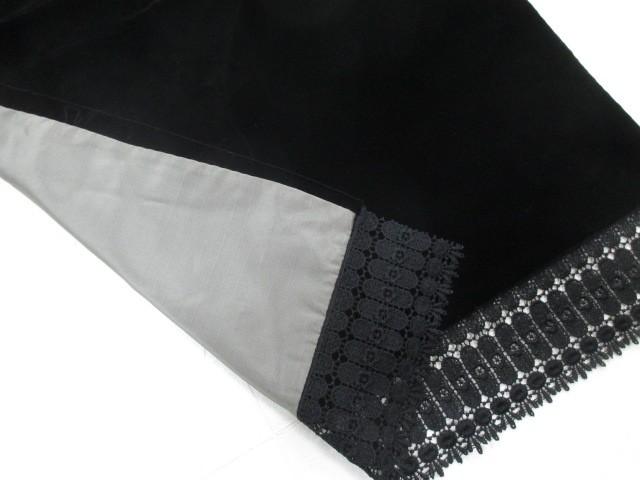 和装 小物 ベロア ショール 黒 着物  レディース...