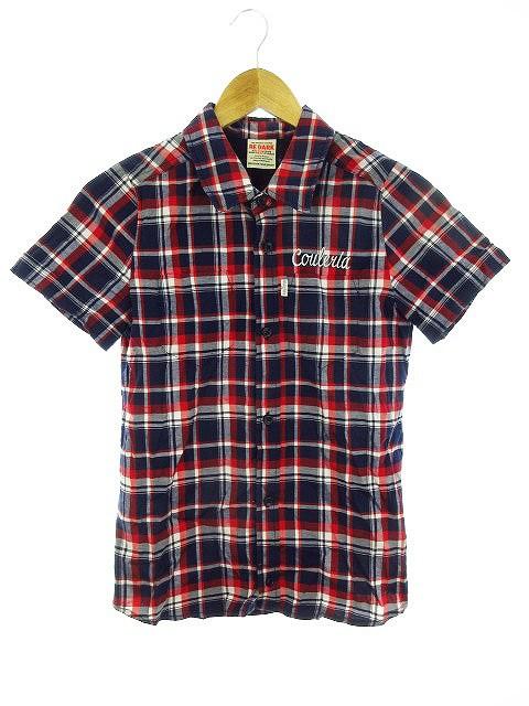 【中古】リダーク RE DARK シャツ 半袖 チェック ...