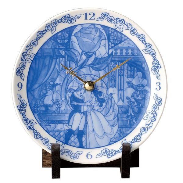 ディズニー 美女と野獣 陶時計 51073