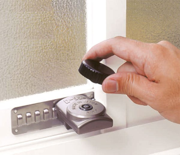 ロータリーウインドロック N-1037 窓補助錠 ノム...