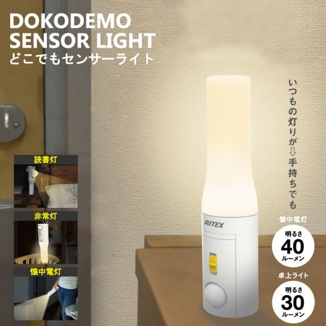 【アウトレット特価】ムサシ RITEX 電池式LED ど...
