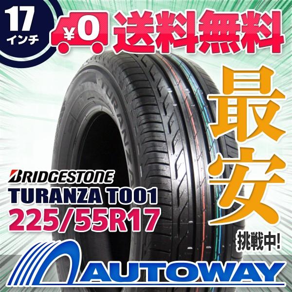 タイヤ サマータイヤ 225/55R17 BRIDGESTONE TURA...