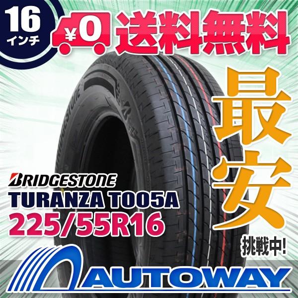 タイヤ サマータイヤ 225/55R16 BRIDGESTONE TURA...