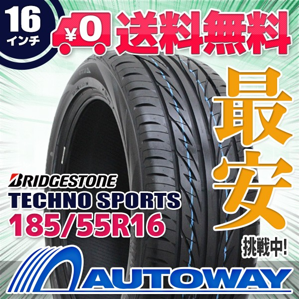 タイヤ サマータイヤ 185/55R16 BRIDGESTONE TECH...