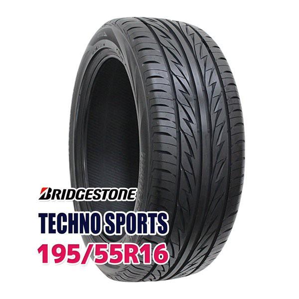 サマータイヤ 195/55R16 BRIDGESTONE TECHNO SPOR...