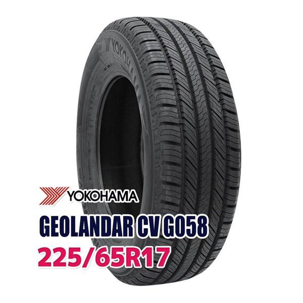 サマータイヤ YOKOHAMA GEOLANDAR CV G058 225/65...