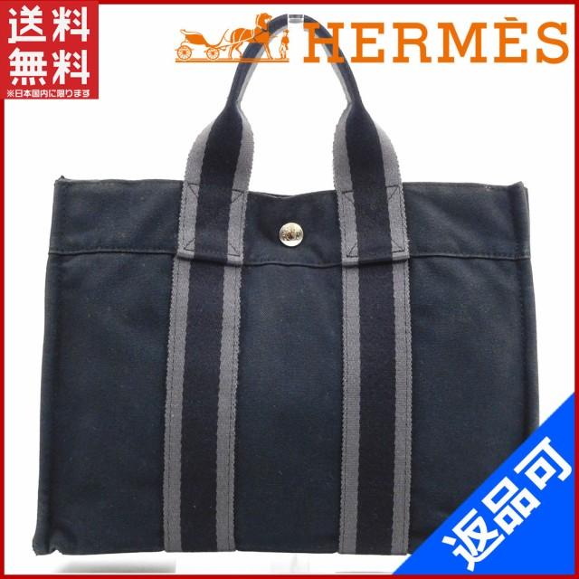 エルメス バッグ HERMES ハンドバッグ フールトゥPM ブラック 即納 【中古】 X15731