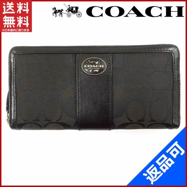 b019a45ad376 【中古】 COACH 長財布 コーチ