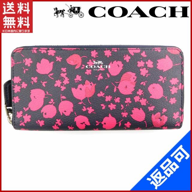 f762c02b4374 コーチ 財布 COACH 長財布 ミッドナイトルビー ブラック×ピンク 新品 未使用品 (未