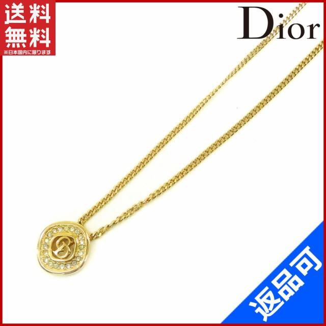 445e895ab4f クリスチャン・ディオール アクセサリー Christian Dior ネックレス ゴールド (美品・即納) 【中古