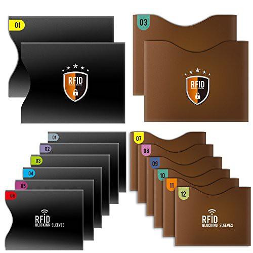 Tecboss カードケース RFID&スキミング防止 「12...