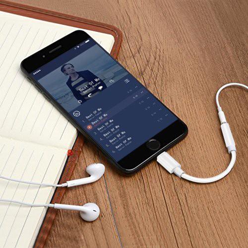 Liwin iphone7 イヤホン 変換 3.5mm端子イヤホン...