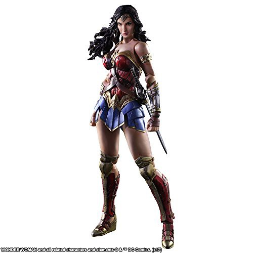 WONDER WOMAN PLAY ARTS改 ワンダーウーマン PVC...
