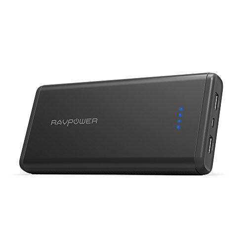 RAVPower 20000mAh モバイルバッテリー ポータブ...