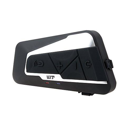 バイク インカム t9s Bluetooth IPX6防水 インタ...