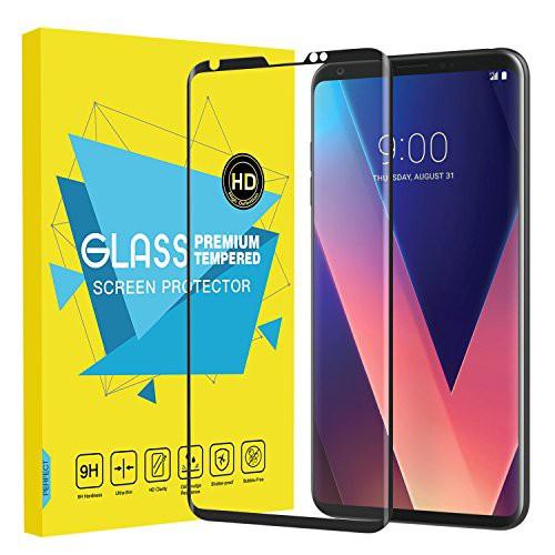 LG V30 フィルム - ATiC LG V30 2017用液晶保護強...