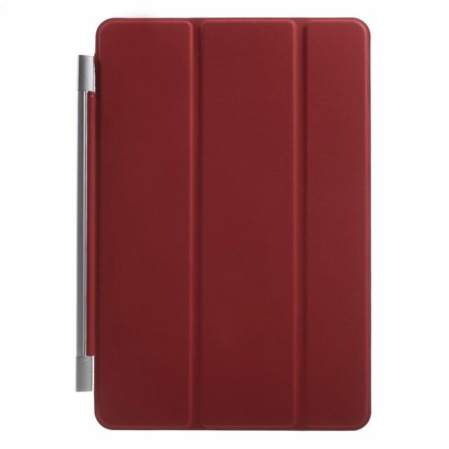 iPad mini 4 レザーケース レッド 液晶保護フィル...