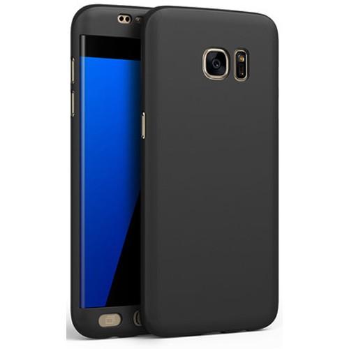 Galaxy S7 edge 360度全面保護耐衝撃 ハードケー...