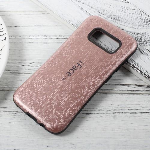 Galaxy S8 ハードケース ローズゴールド 液晶保護...