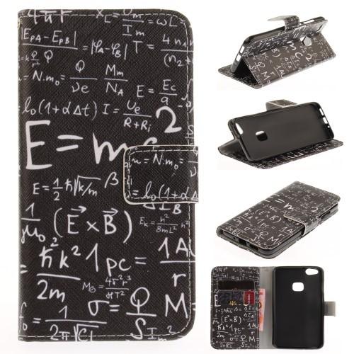 Huawei P10 Lite レザーケース J 強化ガラス保護...