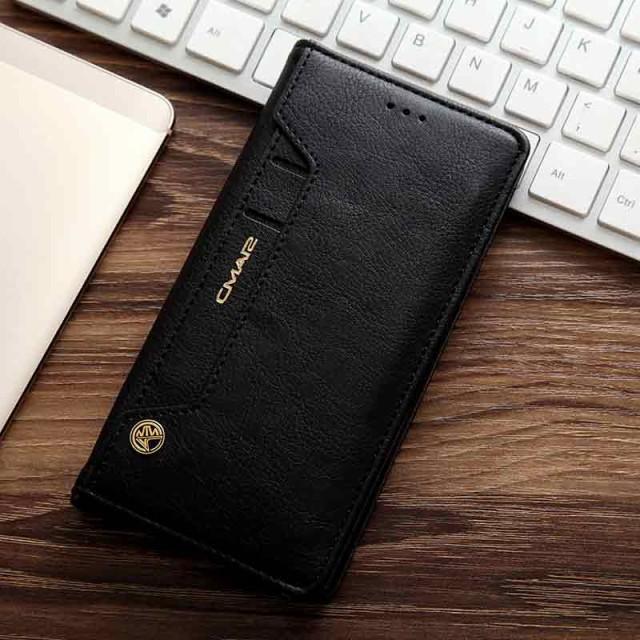 Galaxy S7 edge レザーケース ブラック 液晶保護...