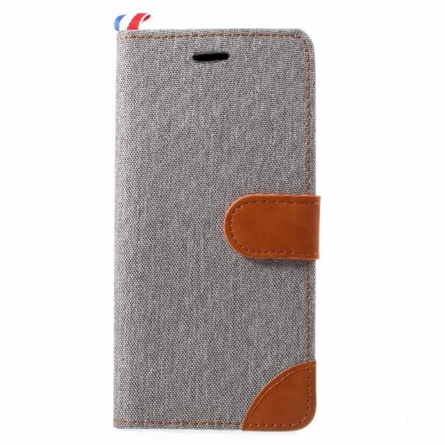Galaxy Note 8 レザーケース グレー 液晶保護フィ...