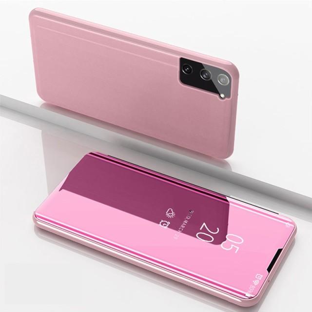 Galaxy Note 8 レザーケース ローズゴールド 液晶...