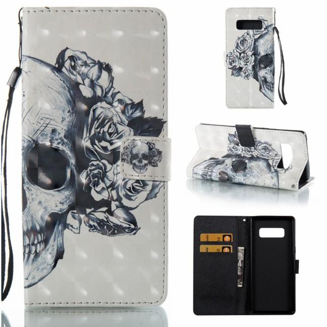 Galaxy Note 8 レザーケース H 液晶保護フィルム...
