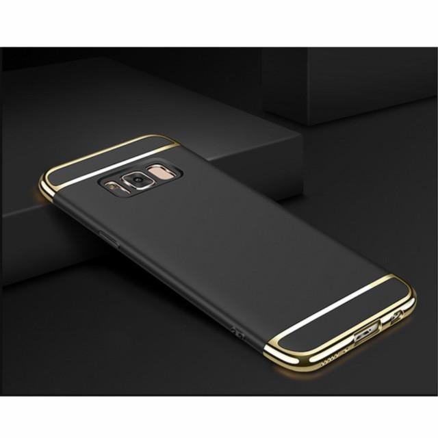 Galaxy Note 8 ハードケース ブラック 液晶保護フ...
