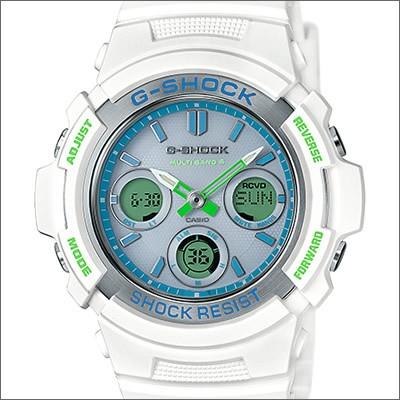 CASIO カシオ 腕時計 AWG-M100SWG-7AJF メンズ G-...